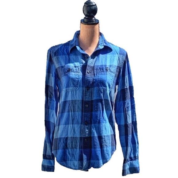 ☀️4/25 American Eagle 'Classic Fit' Plaid Shirt
